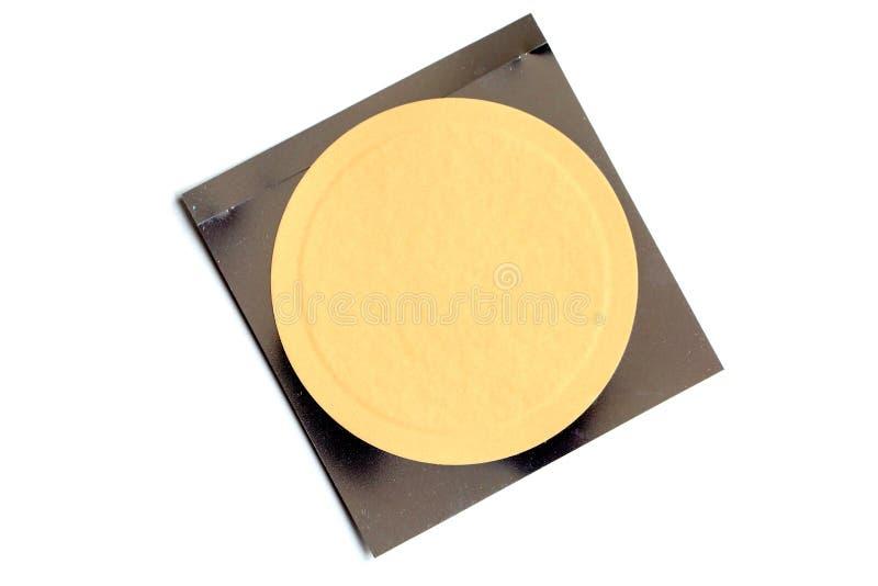 Ειδικό μπάλωμα υγείας που απομονώνεται στο άσπρο υπόβαθρο στοκ φωτογραφία με δικαίωμα ελεύθερης χρήσης