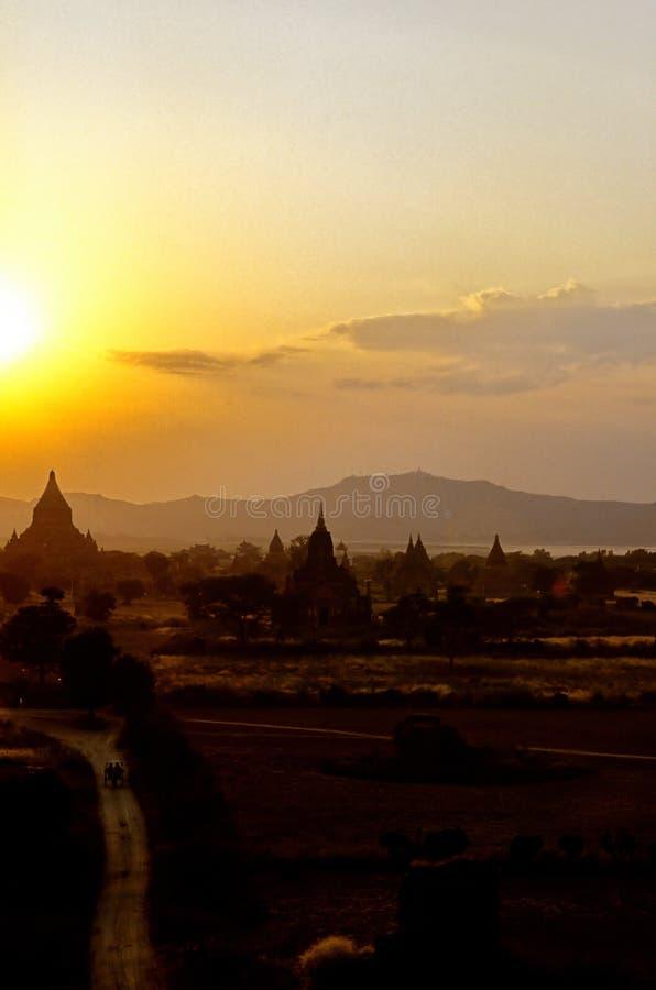 ειδωλολατρική καταστροφή της Βιρμανίας Myanmar στοκ φωτογραφία