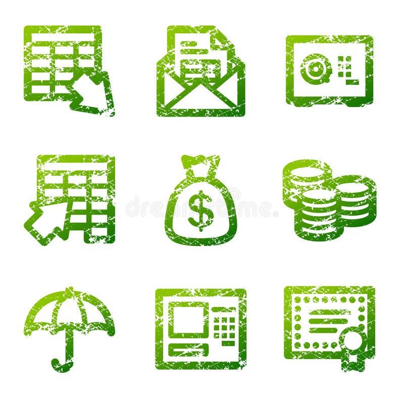 εικονίδια τραπεζικού πε ελεύθερη απεικόνιση δικαιώματος