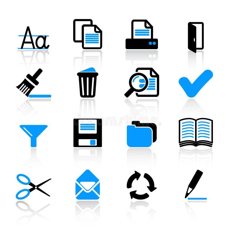 εικονίδια υπολογιστών διανυσματική απεικόνιση