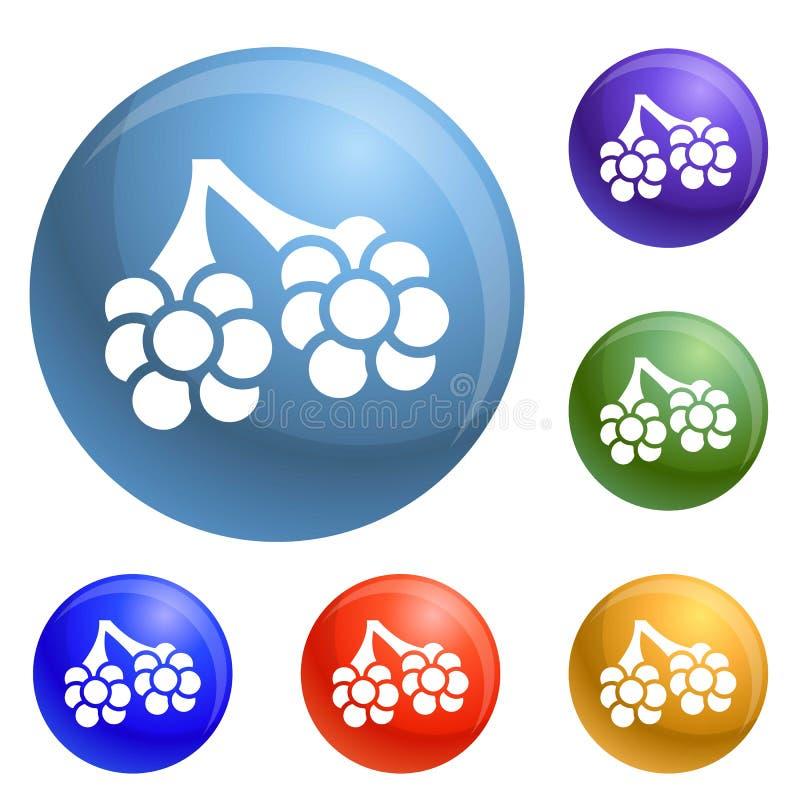 Εικονίδια φατνίων ιών καθορισμένα διανυσματικά ελεύθερη απεικόνιση δικαιώματος