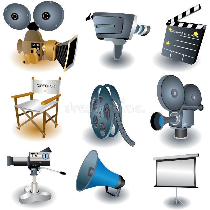 εικονίδια φωτογραφικών μ διανυσματική απεικόνιση