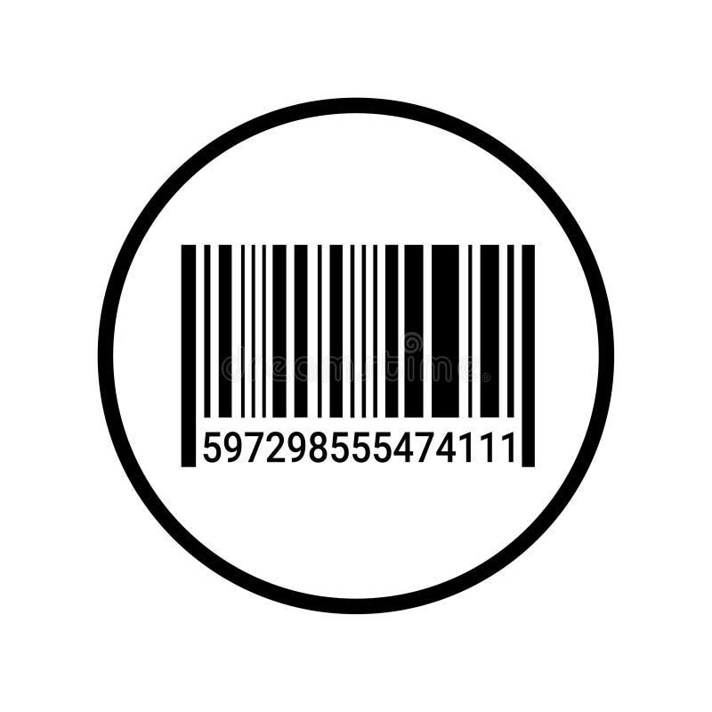 Εικονίδιο/ή-κώδικας ανιχνευτών κώδικα φραγμών απεικόνιση αποθεμάτων