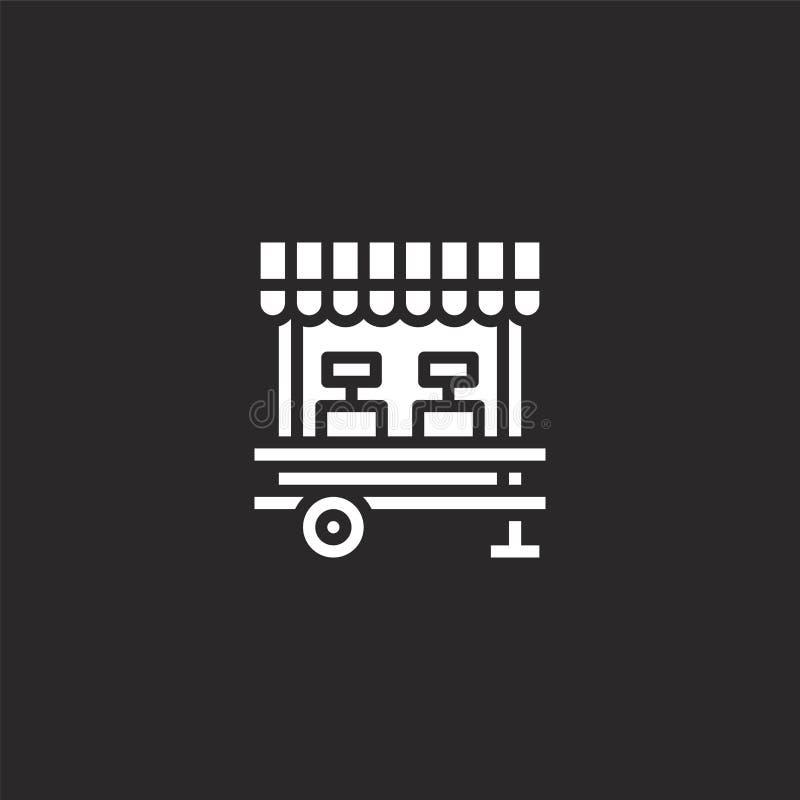εικονίδιο αγοράς Γεμισμένο εικονίδιο αγοράς για το σχέδιο ιστοχώρου και κινητός, app ανάπτυξη εικονίδιο αγοράς από τη γεμισμένη α ελεύθερη απεικόνιση δικαιώματος