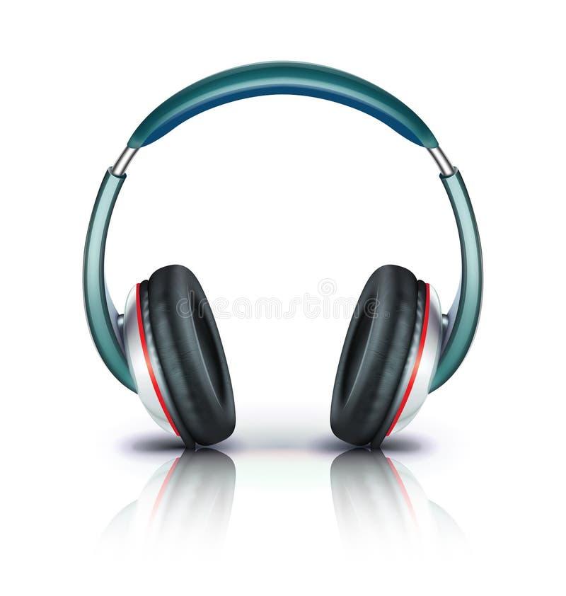 εικονίδιο ακουστικών διανυσματική απεικόνιση