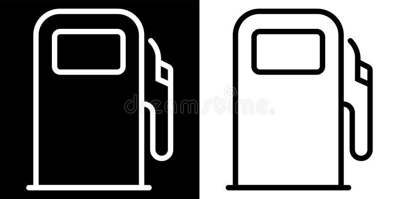 Εικονίδιο βενζινάδικων απεικόνιση αποθεμάτων