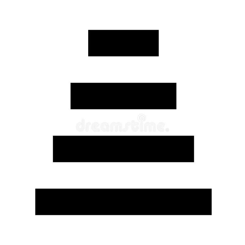 Εικονίδιο βημάτων που απομονώνεται στο άσπρο υπόβαθρο για το σχέδιό σας, επόμενη έννοια εικονιδίων βημάτων ελεύθερη απεικόνιση δικαιώματος