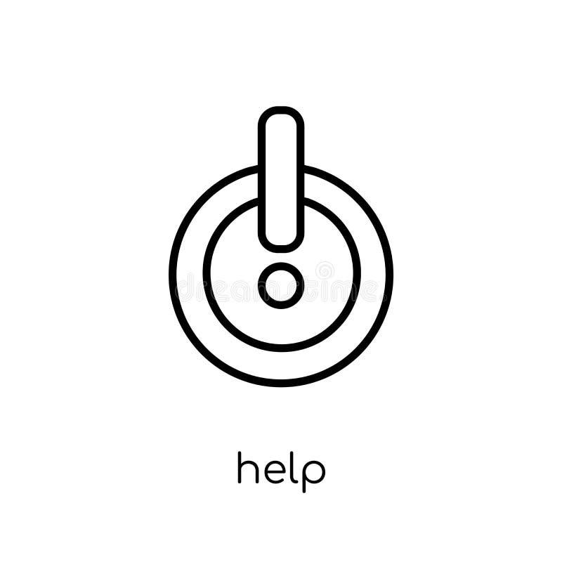 Εικονίδιο βοήθειας από τη συλλογή απεικόνιση αποθεμάτων