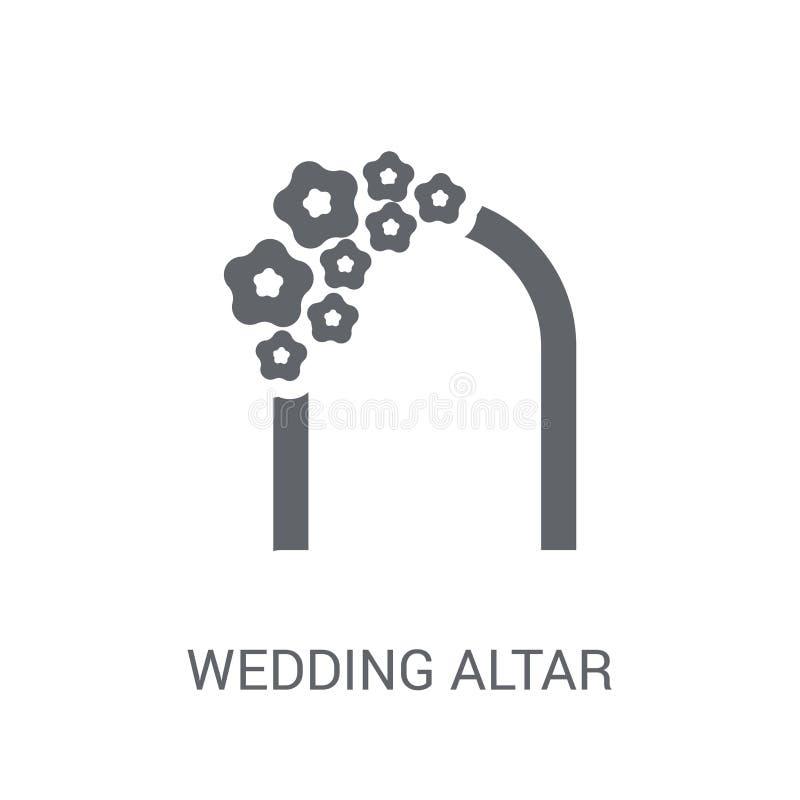 εικονίδιο γαμήλιων βωμών  ελεύθερη απεικόνιση δικαιώματος