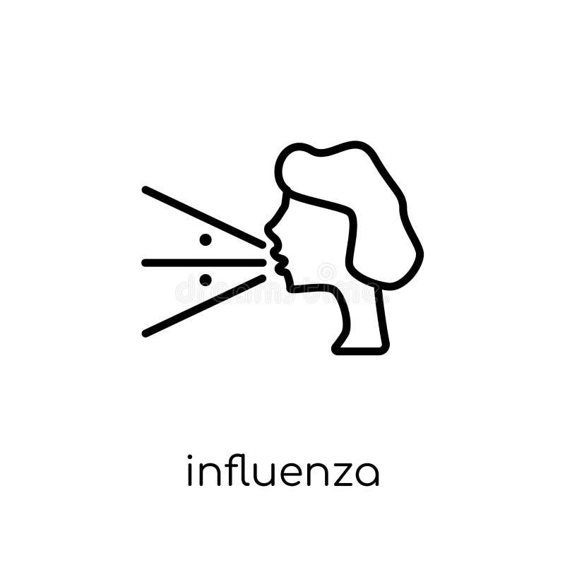 Εικονίδιο γρίπης  ελεύθερη απεικόνιση δικαιώματος