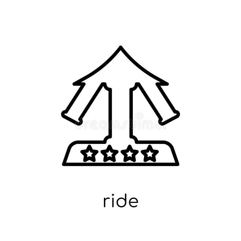 Εικονίδιο γύρου από τη συλλογή τσίρκων διανυσματική απεικόνιση