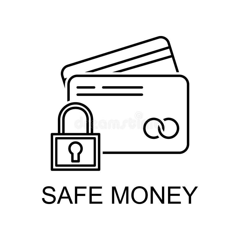εικονίδιο διάρθρωσης ασφαλούς χρηματικού ποσού Στοιχείο εικονιδίου προστασίας δεδομένων με όνομα για την έννοια της κινητής συσκε ελεύθερη απεικόνιση δικαιώματος