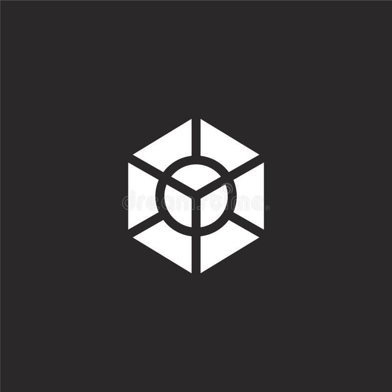εικονίδιο διαγραμμάτων Γεμισμένο εικονίδιο διαγραμμάτων για το σχέδιο ιστοχώρου και κινητός, app ανάπτυξη εικονίδιο διαγραμμάτων  διανυσματική απεικόνιση