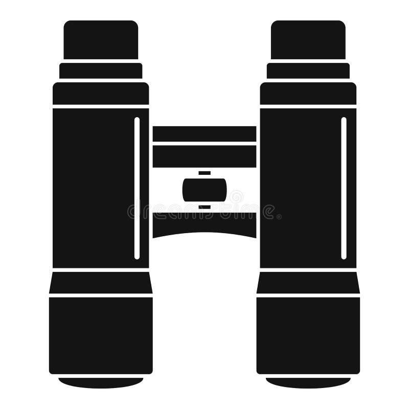 Εικονίδιο διοπτρών Lifeguard, απλό ύφος διανυσματική απεικόνιση