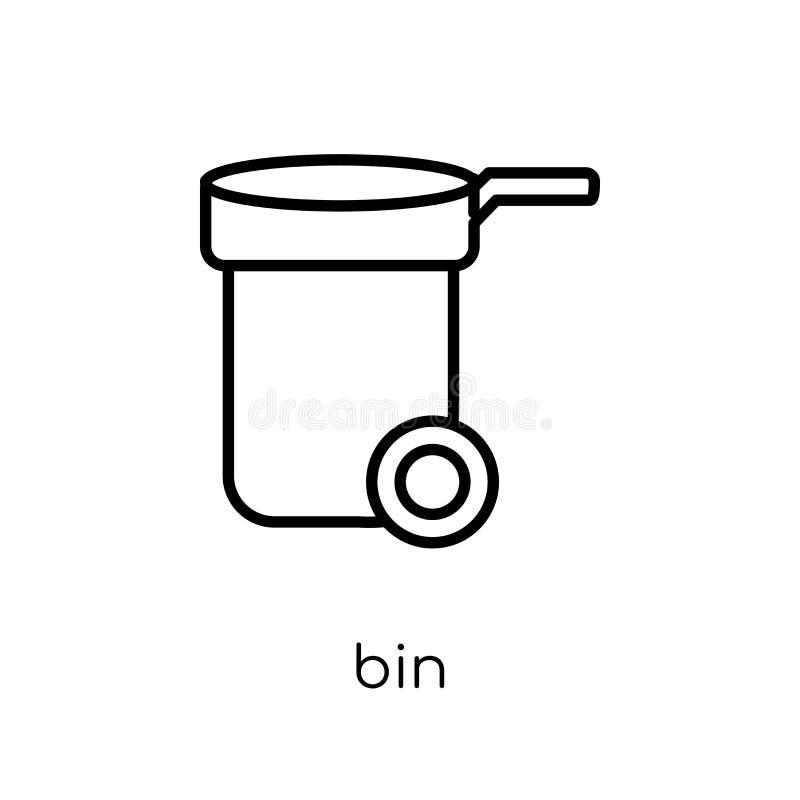 Εικονίδιο δοχείων  απεικόνιση αποθεμάτων