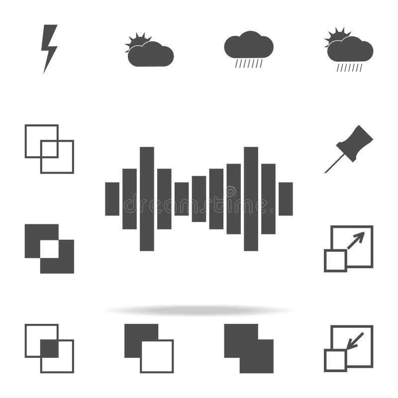 Εικονίδιο εξισωτών καθολικό εικονιδίων Ιστού που τίθεται για τον Ιστό και κινητό διανυσματική απεικόνιση