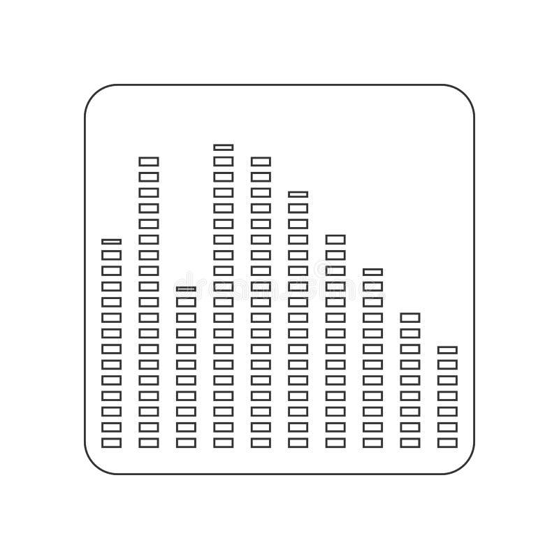 εικονίδιο εξισωτών r r διανυσματική απεικόνιση