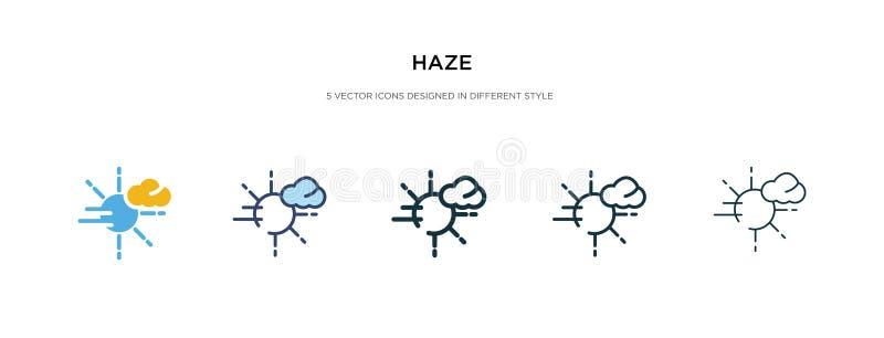 Εικονίδιο 'Επικάλυψη' σε διαφορετική εμφάνιση διανύσματος στυλ δύο έγχρωμα και μαύρα διανυσματικά εικονίδια που έχουν σχεδιαστεί  ελεύθερη απεικόνιση δικαιώματος