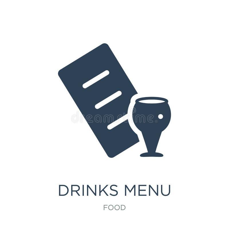 εικονίδιο επιλογών ποτών στο καθιερώνον τη μόδα ύφος σχεδίου εικονίδιο επιλογών ποτών που απομονώνεται στο άσπρο υπόβαθρο διανυσμ ελεύθερη απεικόνιση δικαιώματος