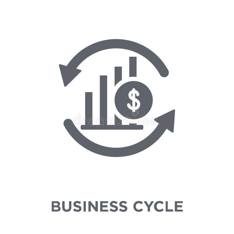 Εικονίδιο επιχειρηματικών κύκλων από τη συλλογή επιχειρηματικών κύκλων απεικόνιση αποθεμάτων