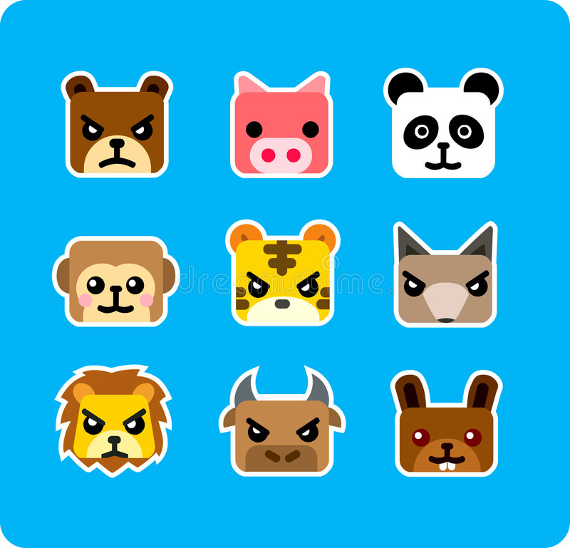 Download εικονίδιο ζώων απεικόνιση αποθεμάτων. εικονογραφία από αγελάδα - 2226547