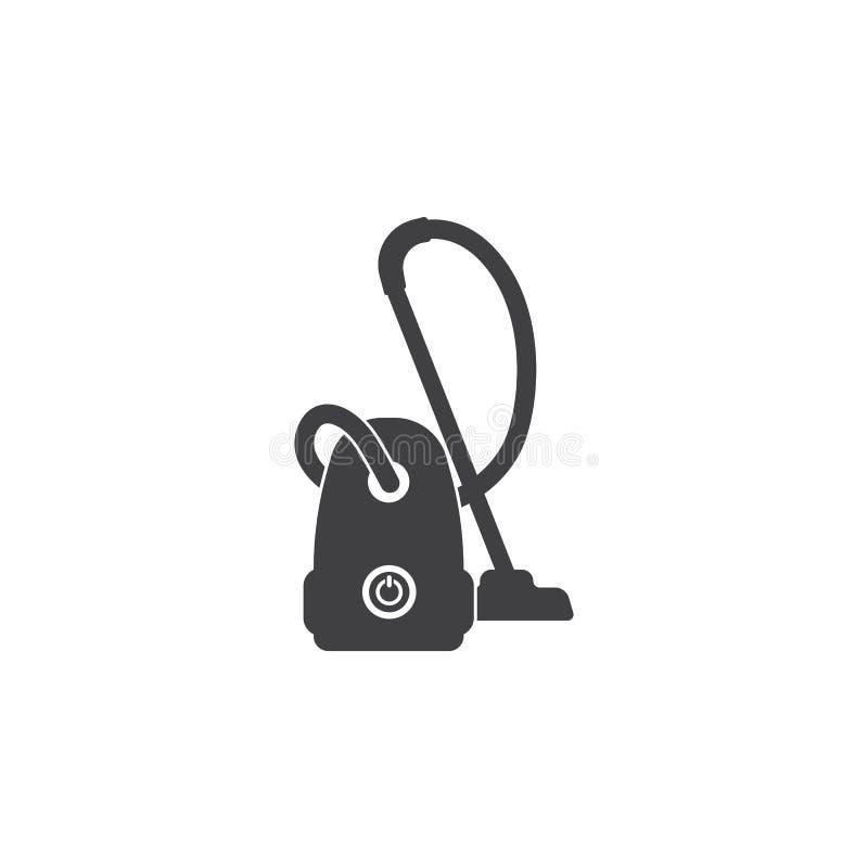 Εικονίδιο ηλεκτρικών σκουπών απεικόνιση αποθεμάτων