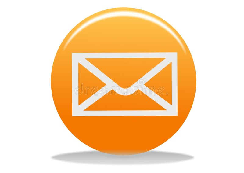 εικονίδιο ηλεκτρονικού ταχυδρομείου διανυσματική απεικόνιση
