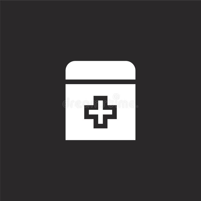 εικονίδιο ιατρικής Γεμισμένο εικονίδιο ιατρικής για το σχέδιο ιστοχώρου και κινητός, app ανάπτυξη εικονίδιο ιατρικής από τη γεμισ διανυσματική απεικόνιση