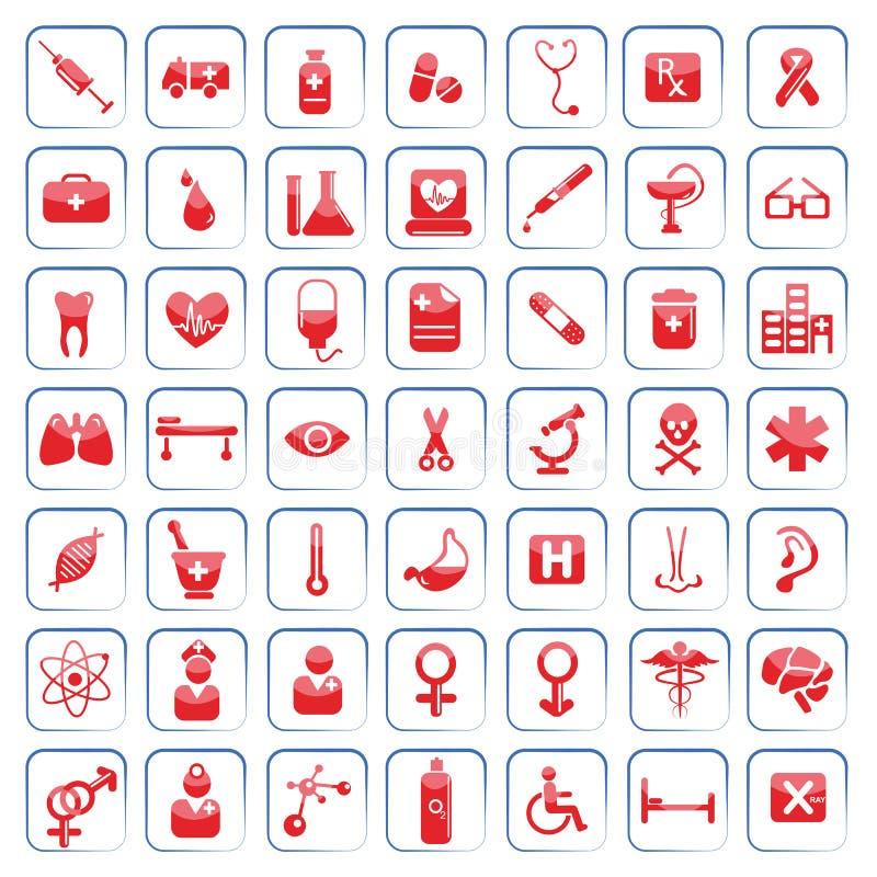 εικονίδιο ιατρικό διανυσματική απεικόνιση