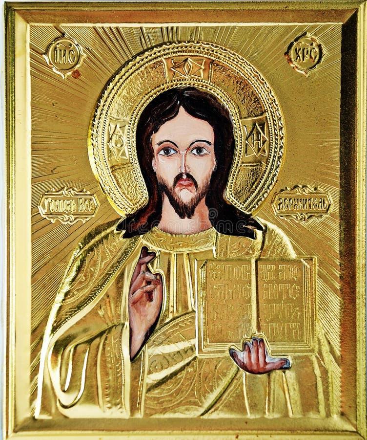 εικονίδιο Ιησούς στοκ εικόνα με δικαίωμα ελεύθερης χρήσης