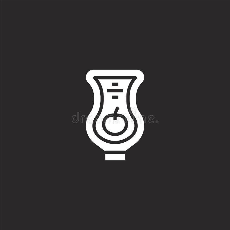 εικονίδιο κέτσαπ Γεμισμένο εικονίδιο κέτσαπ για το σχέδιο ιστοχώρου και κινητός, app ανάπτυξη εικονίδιο κέτσαπ από τη γεμισμένη σ ελεύθερη απεικόνιση δικαιώματος