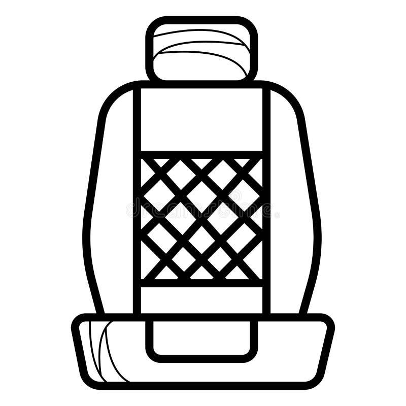 Εικονίδιο καθισμάτων αυτοκινήτων ελεύθερη απεικόνιση δικαιώματος