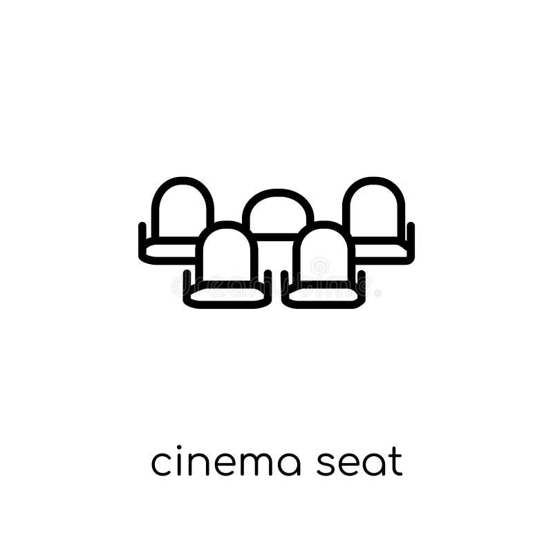 Εικονίδιο καθισμάτων κινηματογράφων από τη συλλογή ψυχαγωγίας διανυσματική απεικόνιση