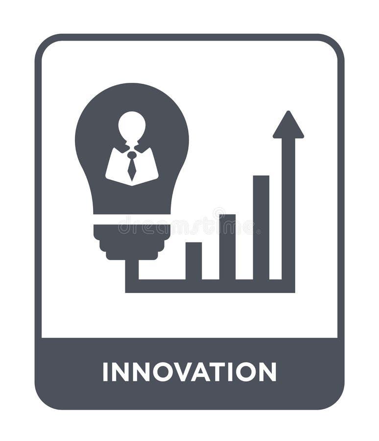 εικονίδιο καινοτομίας στο καθιερώνον τη μόδα ύφος σχεδίου εικονίδιο καινοτομίας που απομονώνεται στο άσπρο υπόβαθρο διανυσματικό  διανυσματική απεικόνιση