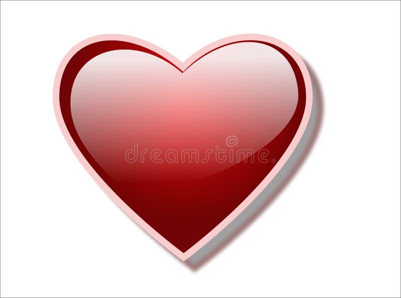 εικονίδιο καρδιών διανυσματική απεικόνιση