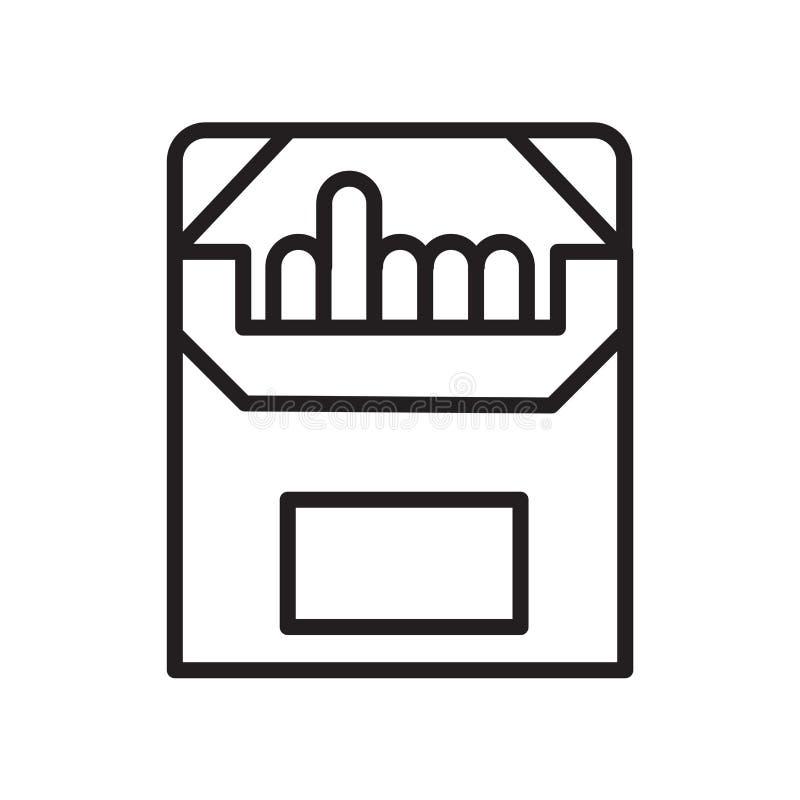 Εικονίδιο κιμωλίας που απομονώνεται στο άσπρο υπόβαθρο ελεύθερη απεικόνιση δικαιώματος