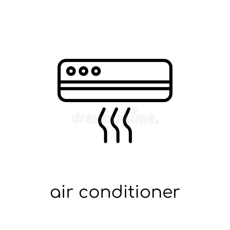 Εικονίδιο κλιματιστικών μηχανημάτων από τη συλλογή ηλεκτρονικών συσκευών απεικόνιση αποθεμάτων