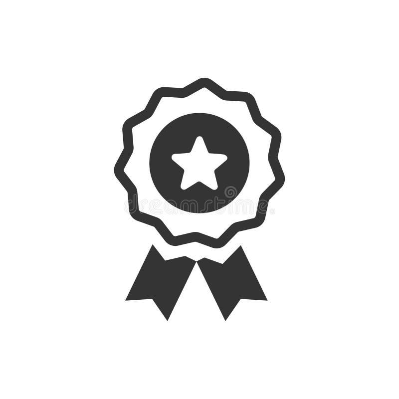 Εικονίδιο κορδελλών βραβείων διανυσματική απεικόνιση