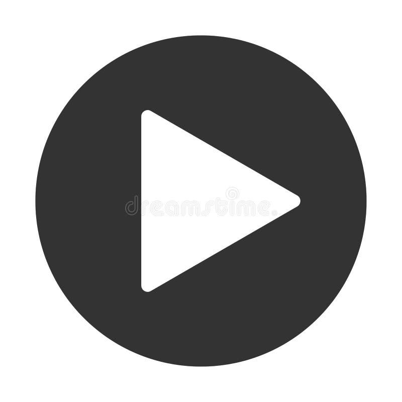 Εικονίδιο κουμπιών παιχνιδιού Η μουσική και το βίντεο χτυπούν προς τα εμπρός το σύμβολο μορφής Μέσα φορέων έναρξης βελών ώθησης Ν διανυσματική απεικόνιση