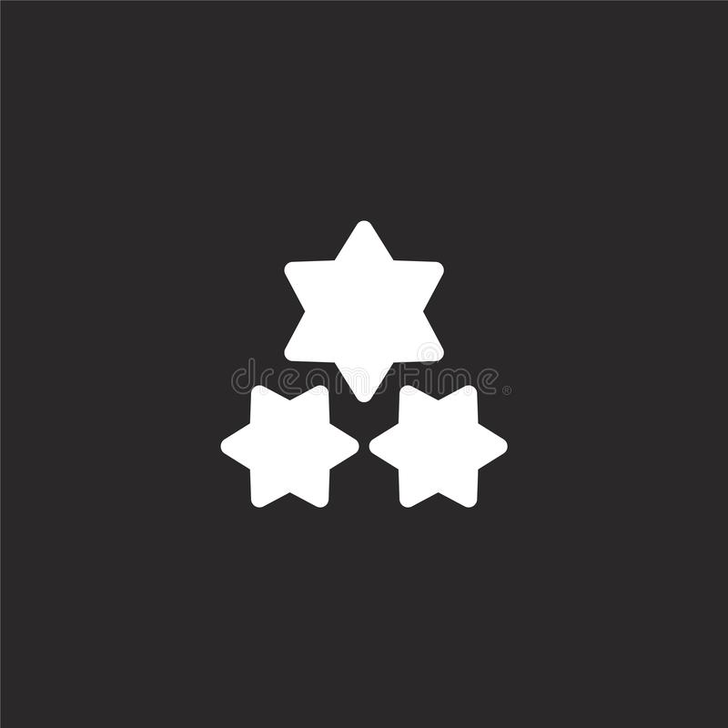 εικονίδιο λάμψεων Γεμισμένο εικονίδιο λάμψεων για το σχέδιο ιστοχώρου και κινητός, app ανάπτυξη εικονίδιο λάμψεων από τη γεμισμέν ελεύθερη απεικόνιση δικαιώματος