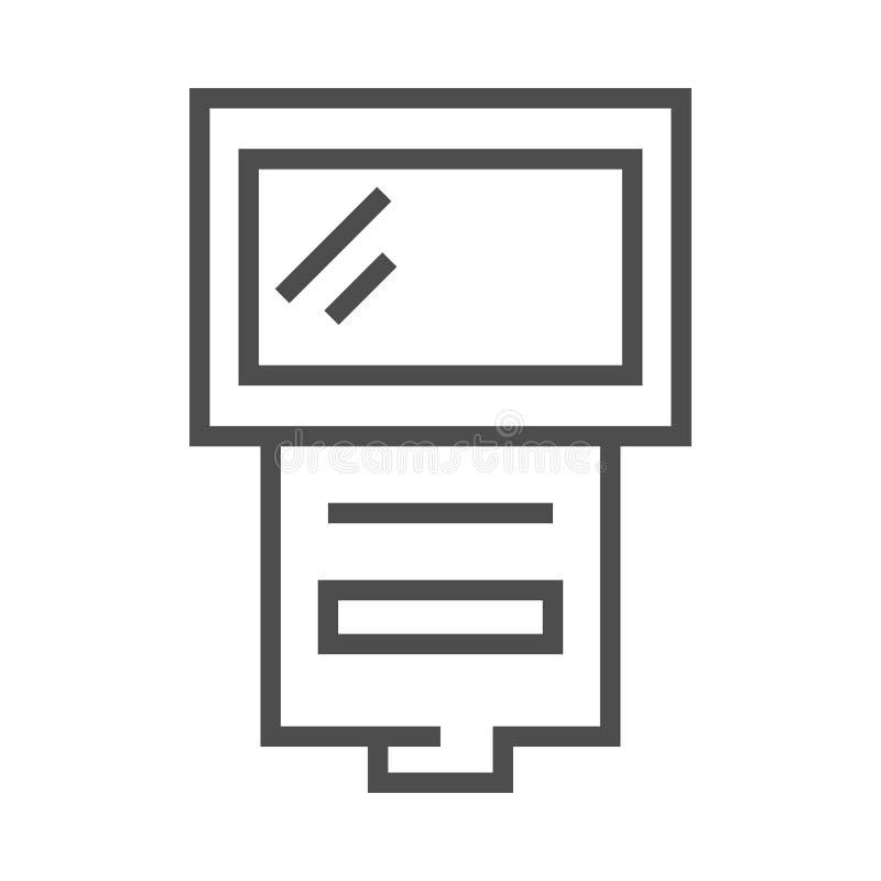 Εικονίδιο λάμψης καμερών φωτογραφιών ελεύθερη απεικόνιση δικαιώματος