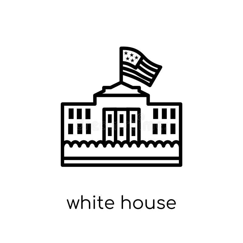 Εικονίδιο Λευκών Οίκων  ελεύθερη απεικόνιση δικαιώματος