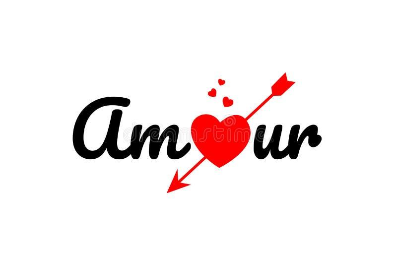 εικονίδιο λογότυπων σχεδίου τυπογραφίας κειμένων λέξης ερωτοδουλειάς διανυσματική απεικόνιση