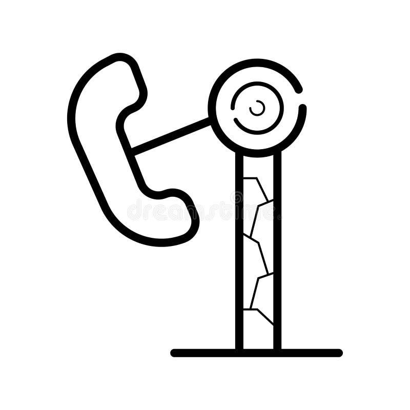 Εικονίδιο λούνα παρκ doodle απεικόνιση αποθεμάτων