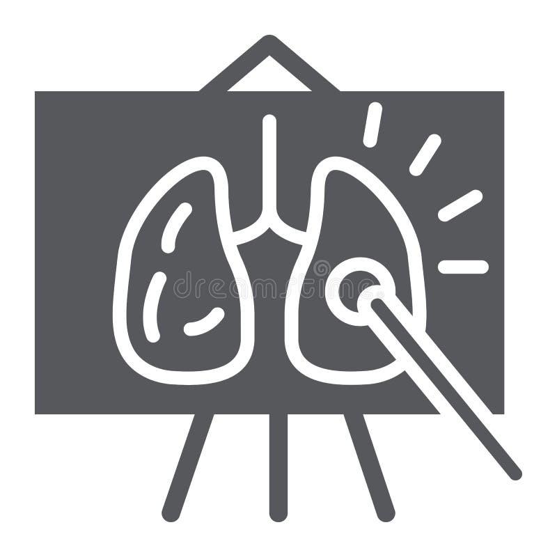 Εικονίδιο μαθήματος ανατομίας glyph, σχολείο και πίνακας, σημάδι κατηγορίας ανατομίας, διανυσματική γραφική παράσταση, ένα στερεό διανυσματική απεικόνιση