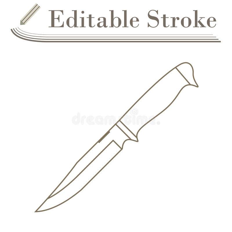 Εικονίδιο μαχαιριών απεικόνιση αποθεμάτων