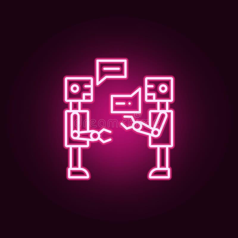 εικονίδιο νέου συνομιλίας τεχνητής νοημοσύνης Στοιχεία του συνόλου τεχνητής νοημοσύνης Απλό εικονίδιο για τους ιστοχώρους, σχέδιο διανυσματική απεικόνιση