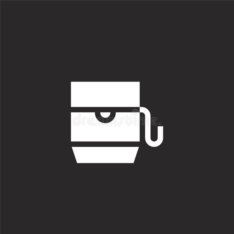 εικονίδιο νήματος Γεμισμένο εικονίδιο νήματος για το σχέδιο ιστοχώρου και κινητός, app ανάπτυξη εικονίδιο νήματος από τη γεμισμέν απεικόνιση αποθεμάτων