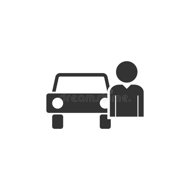 Εικονίδιο οδηγών επίπεδο διανυσματική απεικόνιση