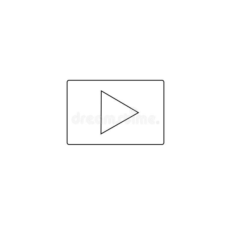Εικονίδιο ΠΑΙΧΝΙΔΙΟΥ Διανυσματικό εικονίδιο κουμπιών Σύμβολο του παιχνιδιού στοκ εικόνα με δικαίωμα ελεύθερης χρήσης